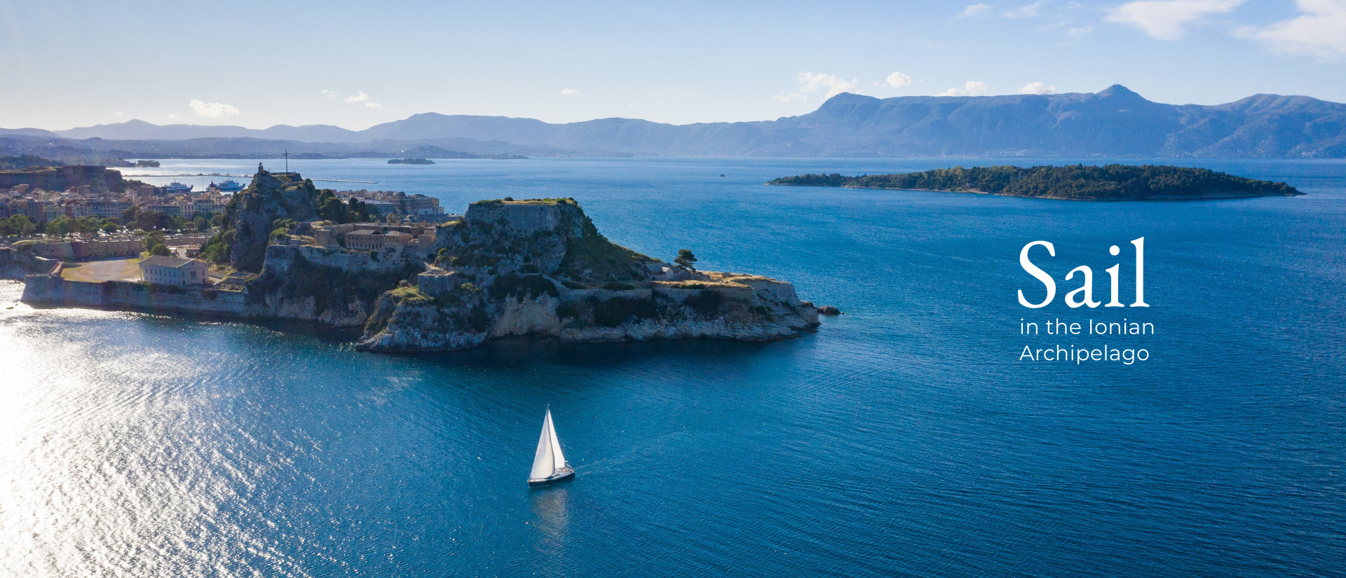 Sail in the Ionian Archipelago
