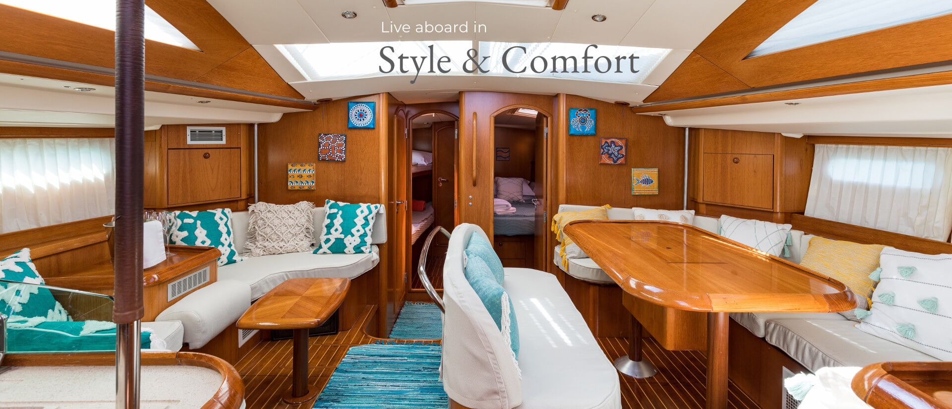 Live aboard in style and comfort